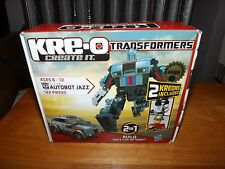 KRE-O TRANSFORMERS, AUTOBOT JAZZ KIT #31146, NEW IN BOX, 2010