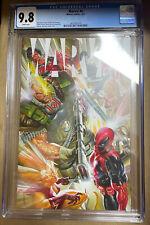 Marvel 4 CGC 9.8 Alex Ross X-Force