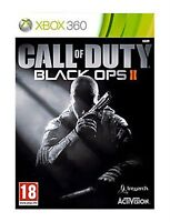 Call of Duty Black Ops II Microsoft Xbox 360 2012 Backwards Compatible Brand New