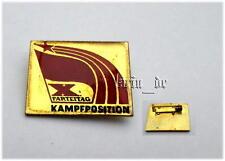 DDR NVA distintivo lotta posizione X. Congresso sed 1981/East German Army badge