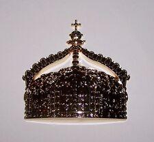 German Prussia Kaiser Royal Crown Emblem Medal Badge Mount Display Art Craft Ek