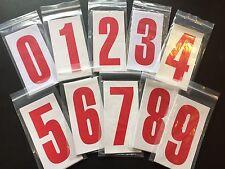 Go Kart - Number C/R Nassa White/Red #1 - NEW