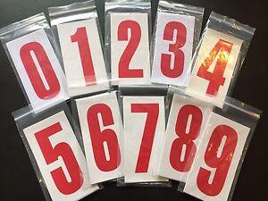 Go Kart - Number C/R Nassa White/Red #8 - NEW