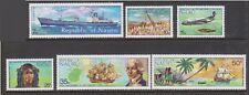 (K202-20) 1974 Nauru set of 6stamps 1st contact 7c to 50c (T)