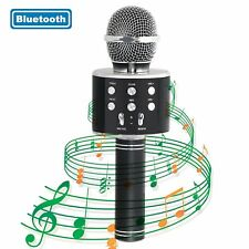MICROFONO PER KARAOKE CANTO MUSICA WIFI WIRELESS BLUETOOTH REGISTRATORE
