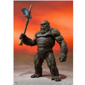 New Godzilla Vs Kong 2021 Kong S.h. Monsterarts Tamashii Action Figure Kids Toy