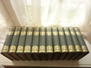 NOVELS OF THE SISTERS BONTE, EXCELLENT CLOTH BINDINGS, 1911, 12 vols. 67 PLATES.