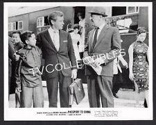 8x10 Photo~ PASSPORT TO CHINA ~1960 ~Richard Basehart ~etc