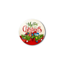Merry Christmas (a) 1.25in Pins Buttons Badge *BUY 2, GET 1 FREE*