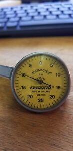 Federal T-88 TestMaster Metric Dial Test Indicator Range .01mm