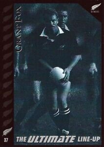 ✺New✺ 1995 NEW ZEALAND ALL BLACKS World Cup Card GRANT FOX Ultimate Lineup