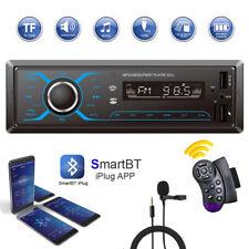 Car Stereo MP3 Player Bluetooth AUX USB TF FM Radio Audio In-dash APP Control