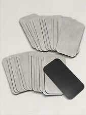 50 Magnets Peel And Stick Self Adhesive Backings For Rectangular Business Cards