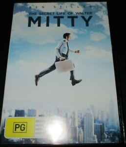 The Secret Life Of Walter Mitty Ben Stiller (Australia Region 4) DVD - Like New