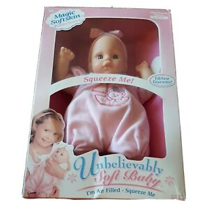Goldberger Doll Unbelievably Magic Softskin Life Like Baby Doll air filled NIB