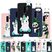 3D Animals Silicone Phone Case Cover For Samsung Galaxy S8/9 J3 J5 J7 2017
