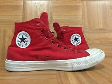 RARE🔥 Converse Chuck Taylor Signature II Lunarlon Hi Red White Sz 9.5 Men's LE