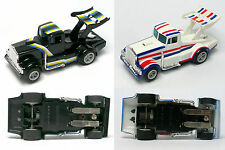1980 Matchbox Slot Car 13' U-Turn TYRONE MALONE DIESEL DAREDEVIL Truck Race Set