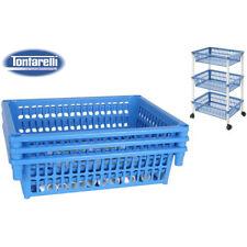 Carrito verdulero 3 cestos 40x62 mito 3 azul / Tontarelli