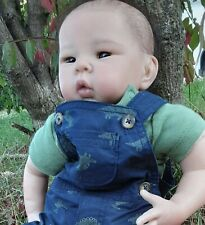 Rare SOLE Hard to Find Liu-San by Adrie Stoete Reborn Baby Asian