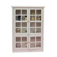 1/12 Puppenhaus Miniatur Möbel Küche Esszimmer Schrank Display Regal