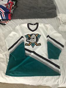 Original Logo Anaheim Mighty Ducks CCM Jersey XL