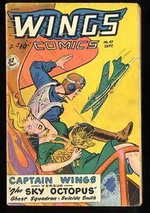 Wings comics #97 GD/VG 3.0
