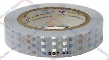 White DOT-C2 Reflective Tape Conspiciuity Safety Caution Night Trailer Truck Car