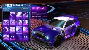 Rocket League Interstellar - Cheap Black Market Decal (Xbox One)