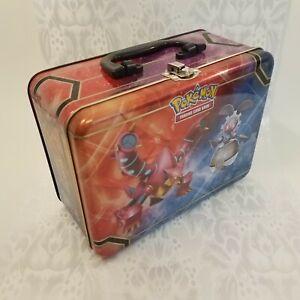 POKEMON 2016 English Collector's Treasure Chest Tin Box Only Volcanion Magearna