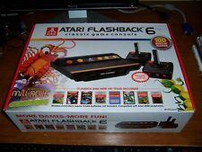 New Atari Flashback 6 Classic Game Console 100 Built in Games Centipede Asteroid