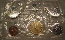 6 Coins UNC. 1989 Canada PL RCM Set