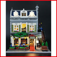 New LED Light Kit ONLY For Lego 10243 Parisian Restaurant Lighting Bricks
