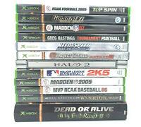 Original Xbox Games Bundle Games to SAVE!