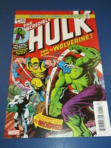 Incredible Hulk #181 Facsimile Reprint 1st Wolverine Key NM Gem