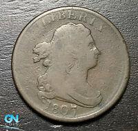 1807 Draped Bust Half Cent --  MAKE US AN OFFER! #B6368