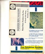 Booklet Multi Color Prices Paint Point Products 99 South 6th St Brooklyn NY