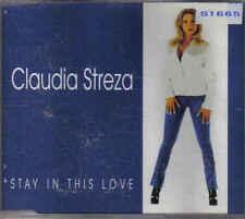 Claudia Streza- Stay in this Love cd maxi single