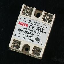 90-480V AC/25A Output 80-250V AC Input Solid State Relay