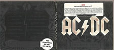 "AC/DC ""Black Ice"" Stickered Promo CD Digi weiss"