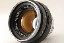 [Exc++++] Nikon Nippon Kogaku Nikkor-H 5cm 50mm f/2 for S series from japan #202