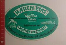Aufkleber/Sticker: Haren Ems Familienferien in Deutschland (28101631)