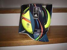 Adidas Matchball Pro Ligue 1 Spielball Fußball 2015/2016 gelb Gr. 5 + Box
