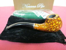 "PIPE-real Pear Wood-Tobacco-5.5""-with pouch and travel stand-sealed tobacco-NEW"
