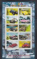 FRANKREICH, 2000 Briefmarkenausstellung 3458-67 Kleinbogen **, (24444)