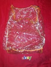 HEAVY DUTY Vinyl Zippered Clear Large Storage Bag 20x12x12 (8 Gallon) EXCELLENT