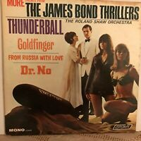 MORE  THEMES  FROM  THE JAMES  BOND  THRILLERS       LP      VARIOUS  FILMS