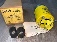 Brand New In Box!!! Hubbell Hubbellock Connector Body (#26419)