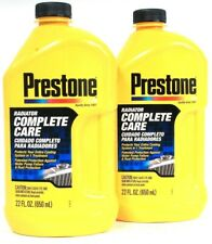 2ct Prestone 22 Oz Radiator Complete Care Protects Cooling System In 1 Treatment
