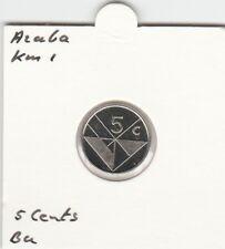 Aruba 5 cents 1989 BU - KM1